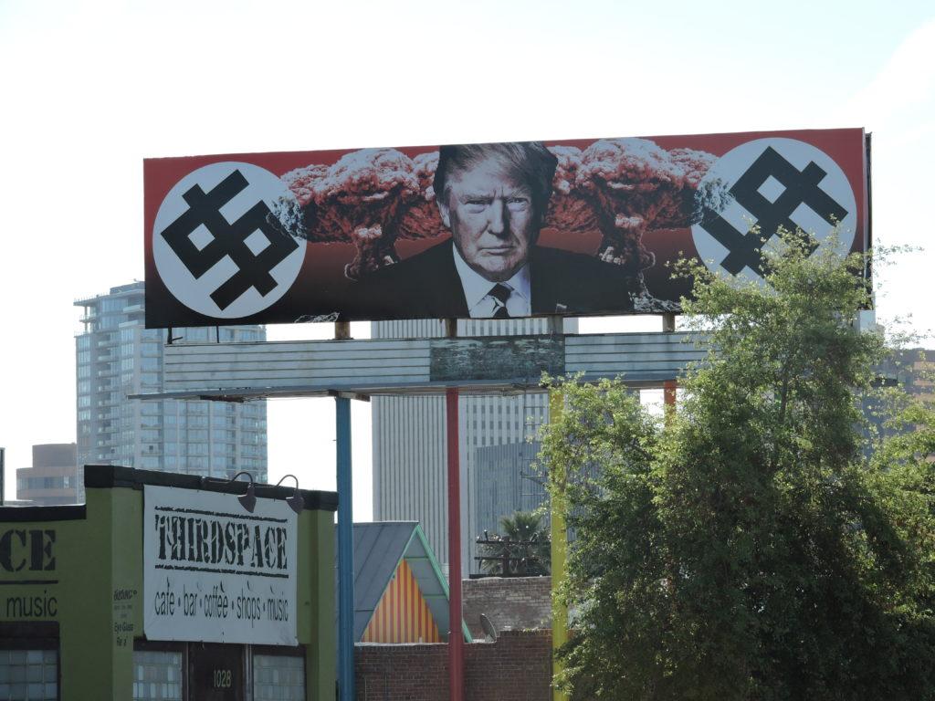 Trump Swastika Billboard in Phoenix AZ