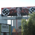 Trump Swastika Billboard in Phoenix AZ
