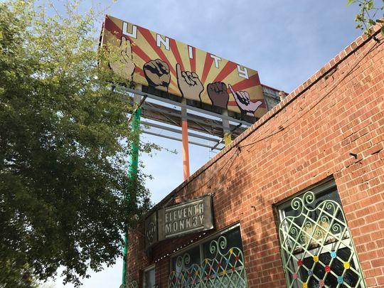Trump Billboard Phoenix