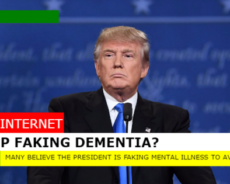 More Evidence Trump May be Faking Dementia for a Lighter Sentence
