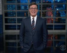 Steven Colbert Disses Al Franken Over Groping Allegations