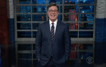 Steven Colbert Disses Al Franken Over Groping Allegations