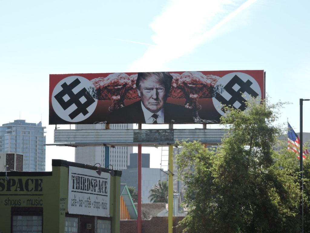 Trump Nazi Billboard Phoenix AZ
