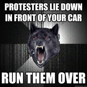 Charlottesville unite the right protesters run over