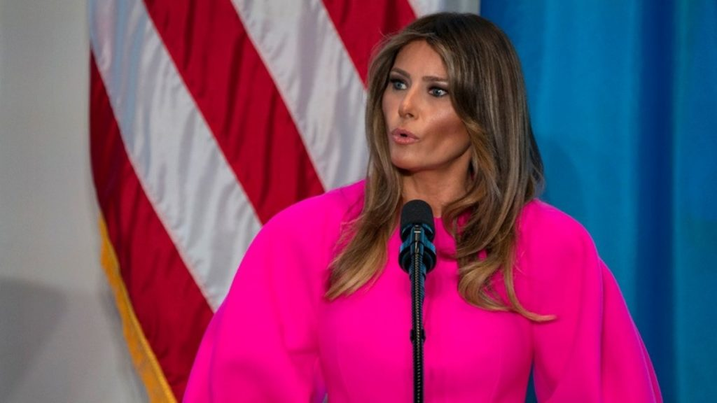 Melania Trump, Porn Star First Lady Addresses UN