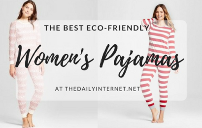 Best eco-friendly womens pajamas for sustainable gifts
