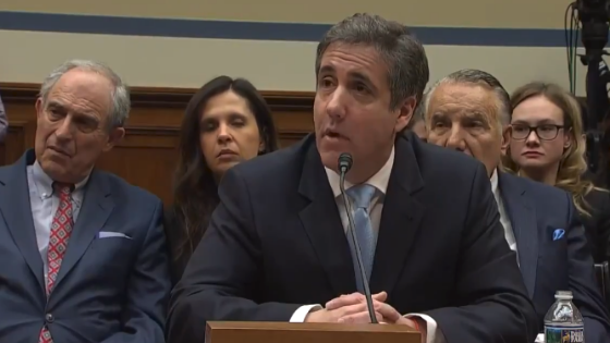 President Trump Declares Michael Cohen a National Emergency