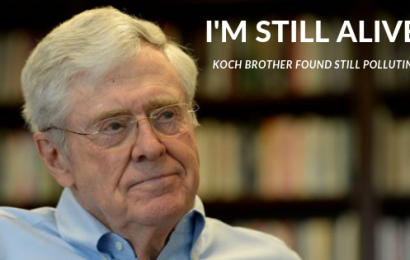 World Mourns As One Koch Brother Found Still Alive