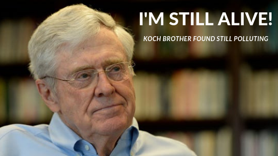 Millions mourn as Charles Koch found alive