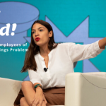Alexandria Ocasio Cortez warns of pay scam